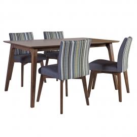 Söögilauakomplekt LOTO 4-tooliga