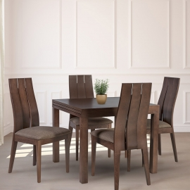 Söögilauakomplekt TIFANY 4-tooliga