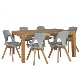 Söögilauakomplekt CHICAGO NEW 6-tooliga