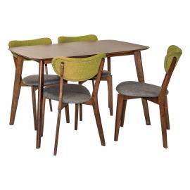 Söögilauakomplekt LUXY 4-tooliga