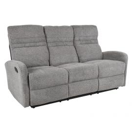 Diivan SAHARA 3-kohaline recliner 185x90xH102cm, hall