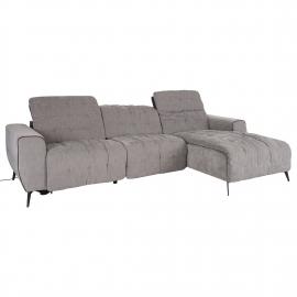 Nurgadiivan LUND PN elektriline recliner 294x95/170xH84cm, hall
