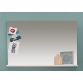 Peegel AMANDA valge, 91x14xH60 cm