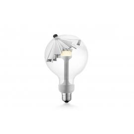 LED lamp MOVE ME umbrella hõbe, 5.5W, E27, 2700K