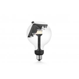 LED lamp MOVE ME umbrella must / hõbe, 5.5W, E27, 2700K