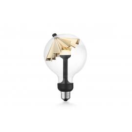 LED lamp MOVE ME umbrella kuldne, 5.5W, E27, 2700K