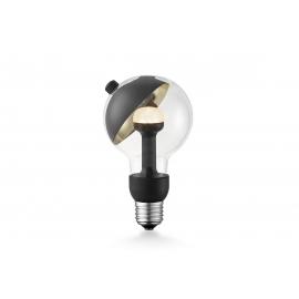LED lamp MOVE ME sphere must / kuldne, 3W, E27, 2700K