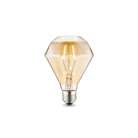 LED lamp DIAMOND merevaik, D11,2xH13,4 cm, 2W, E27, 2700K