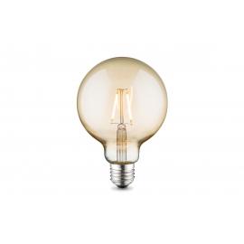 LED lamp GLOBE merevaik, D9,5xH13,5 cm, 2W, E27, 2700K