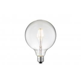 LED lamp CARBON klaar, D12,5xH17 cm, 4W, E27, 3000K