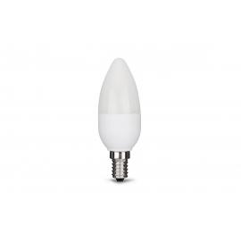 LED lamp CANDLE valge, D3,5xH10 cm, 5,5W, E14, 2700K, reguleeritav