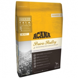 ACANA Classics 25 koeratoit Prairie Poultry 11,4kg