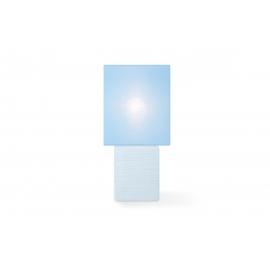 Lauavalgusti CHARM sinine, 13x13xH30 cm, E14