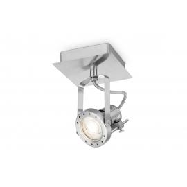 Kohtvalgusti ROBO metall, 11,5x11,5xH7 cm, LED