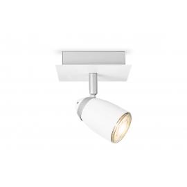 Kohtvalgusti GINA valge, 11,5x11,5xH13 cm, LED