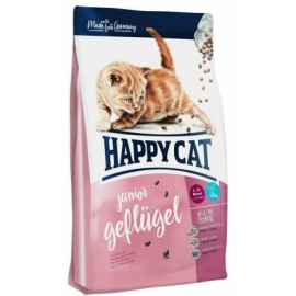 Happy Cat Supreme Junior Geflugel kassitoit 4kg
