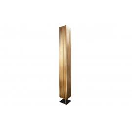 Põrandavalgusti PARIS kuldne / hõbe, 15x15xH120 cm