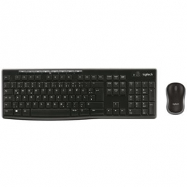 Juhtmevaba klaviatuur + hiir Logitech MK270 (SWE)