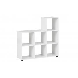 Esikuriiul PISA valge läige, 104x33xH106 cm
