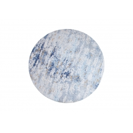 Vaip MODERN ART sinine / beež, D150 cm