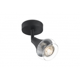 Kohtvalgusti VAYA must, D9xH16,5 cm, LED