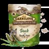 Carnilove Pouch Pate Duck with Timothy Grass einekotike koertele 12x300g