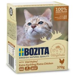 Bozita kassikonserv Minced Chicken in Jelly 6x370g
