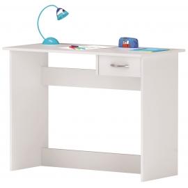 Kirjutuslaud ALPIN valge, 101x50xH77 cm