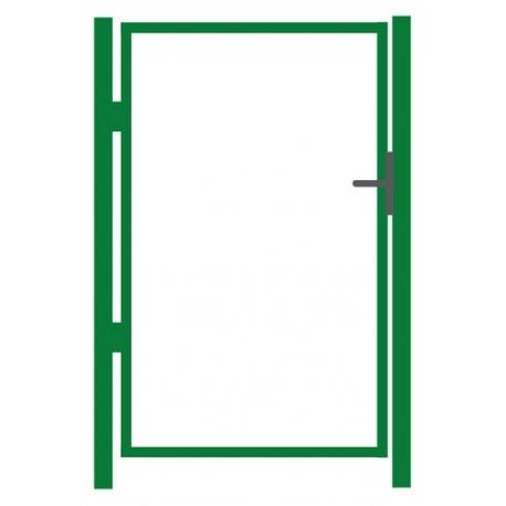 Jalgvärava raam zn+värv 100x150cm
