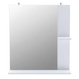 Seinapeegel Coralie 2 valge, 62,4x15,5xH69cm