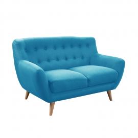 Diivan RIHANNA 2-kohaline 140x84xH87cm, sinine