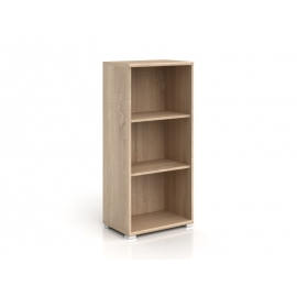 Raamaturiiul Office tamm, 52,5x35xH114 cm