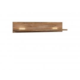 Seinariiul Gent tume tamm, LED, 139x27xH25 cm