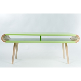 Diivanilaud FUN roheline, 112,5x45,5x45 cm