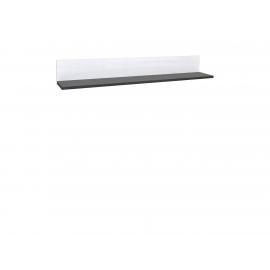 Seinariiul Antwerpen valge, 175x27xH25cm