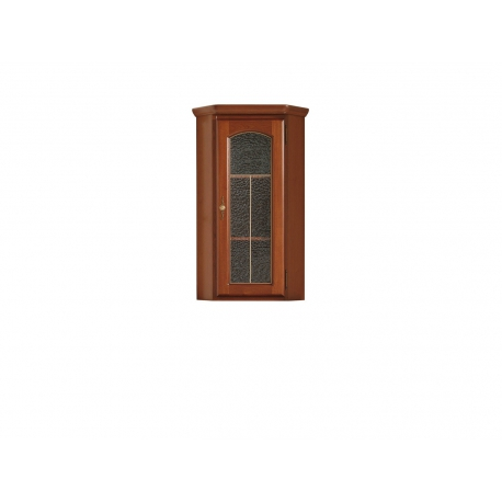 Vitriinkapp Bawaria, 1 uksega, kastan / pähkel