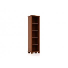 Raamaturiiul Natalia, 5 riiulit, pruun