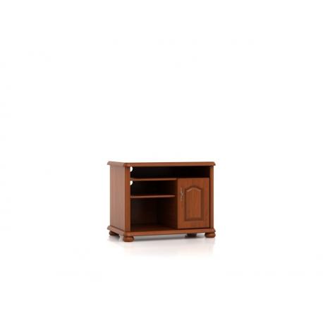 TV-alus Natalia, 1 uks ja avatud sahtlid, pruun