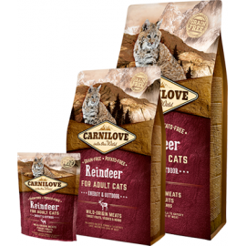 Carnilove Reindeer Energy & Outdoor kassitoit 6kg