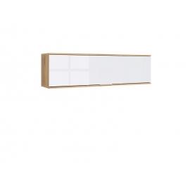 Seinakapp ZELE tamm / valge, 135x31xH37 cm