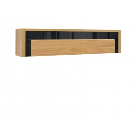 Seinakapp AROSA tamm / must, 160x30xH36 cm