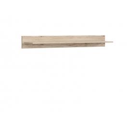 Seinariiul ROMANCE tamm, 143x23,5xH16,5 cm