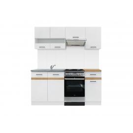 Köögimööbli komplekt JUNONA LINE 170 cm valge