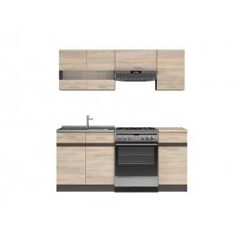 Köögimööbli komplekt JUNONA LINE 180 cm tamm