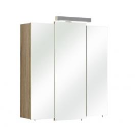 Peegelkapp OFFENBACH tamm Sanremo 68x20xH73 cm, LED