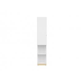 Kapp PRINCETON valge läige / tamm, 37x36xH181.5 cm