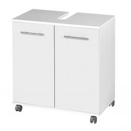 Valamukapp ISOLA valge, 60x33x63,4 cm