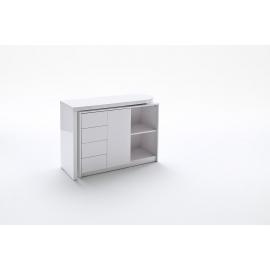 Kirjutuslaud MATT valge, 108x42xH77 cm
