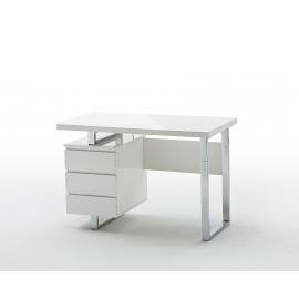 Kirjutuslaud SYDNEY valge läige, 115x60xH76 cm
