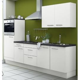 Köögikomplekt OPTIkoncept valge 270 cm